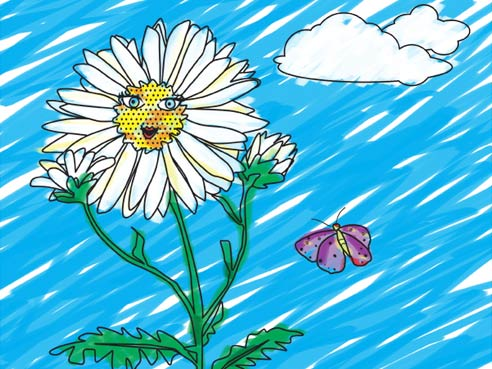Girl Scouts For Girls 187 Print Amp Play Color Me Daisy