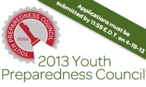 FEMA Citizen Corps Youth Preparedness Council page