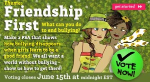 Girl Scouts Speak Out! Friendship First View&Vote page