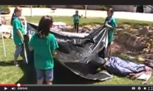 How to Pitch a Tent video by GS Troop 341 on YouTube