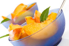 SowWhat-From-ShariRose-EASY-PEACH-AND-MINT-SALAD