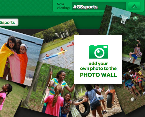 Girl Scouts Photo Wall