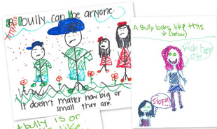 BFF Draw a Bully activity